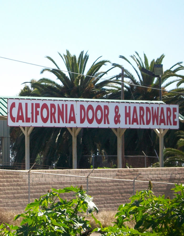 California Door & Hardware Storefront